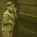 "A still from ""Little Brother"" (Thanhouser Film Corporation, 1913), one of two one-reelers from New York's Thanhouser Company repatriated through the project. Courtesy of the National Film Preservation Foundation."