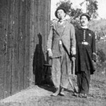 """Chaplin alongside Ford Sterling in """"The Thief Catcher"""""""