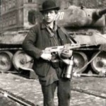 A militant during the Hungarian Revolution of 1956, one of many historical events that led to increased surveillance and record keeping by the country's Soviet-backed regime.