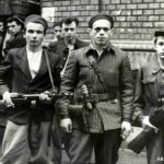 Militants during the Hungarian Revolution of 1956; photo: Historical Archives of the Hungarian State Security