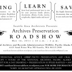 Archives Preservation Roadshow