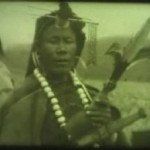 "sA screen grab from a 1944 film of Apa Tani shamans and their rituals from the Digital Himalayas project of the University of Cambridge and Yale University. The footage was recorded in Arunachal Pradesh (""land of the dawn-lit mountains""), a province in the far northeast of India, most of whose residents are Tibeto-Burman."