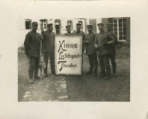 Kamerateam von Wolfgang Filzinger, um 1915