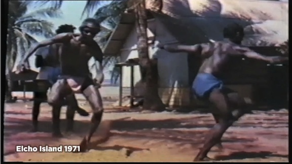 "Still from 1971 film, ""Elcho Island."" AIATSIS."