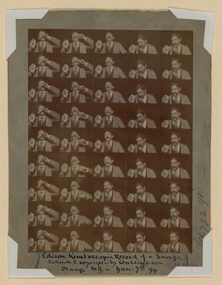Edison Kinetoscopic Record of a Sneeze (January 7, 1894)