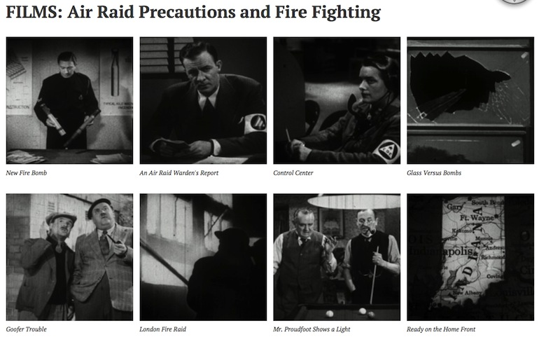air raid films copy