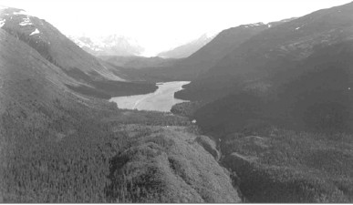 Eklutna Valley and Lake. Image: Anchorage Museum of History & Art