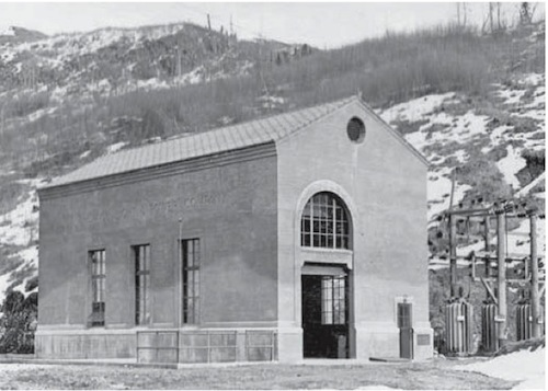 Old Eklutna Power Station; Reed Collection
