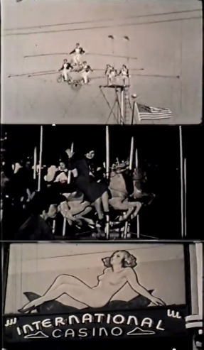 Thrills and spills from an earlier North Carolina State Fair, during the 1940s. Click on image to see film on the NC State Archives' YouTube channel.