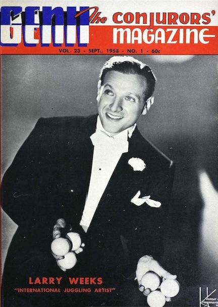 Larry Weeks sept 1958 Genii