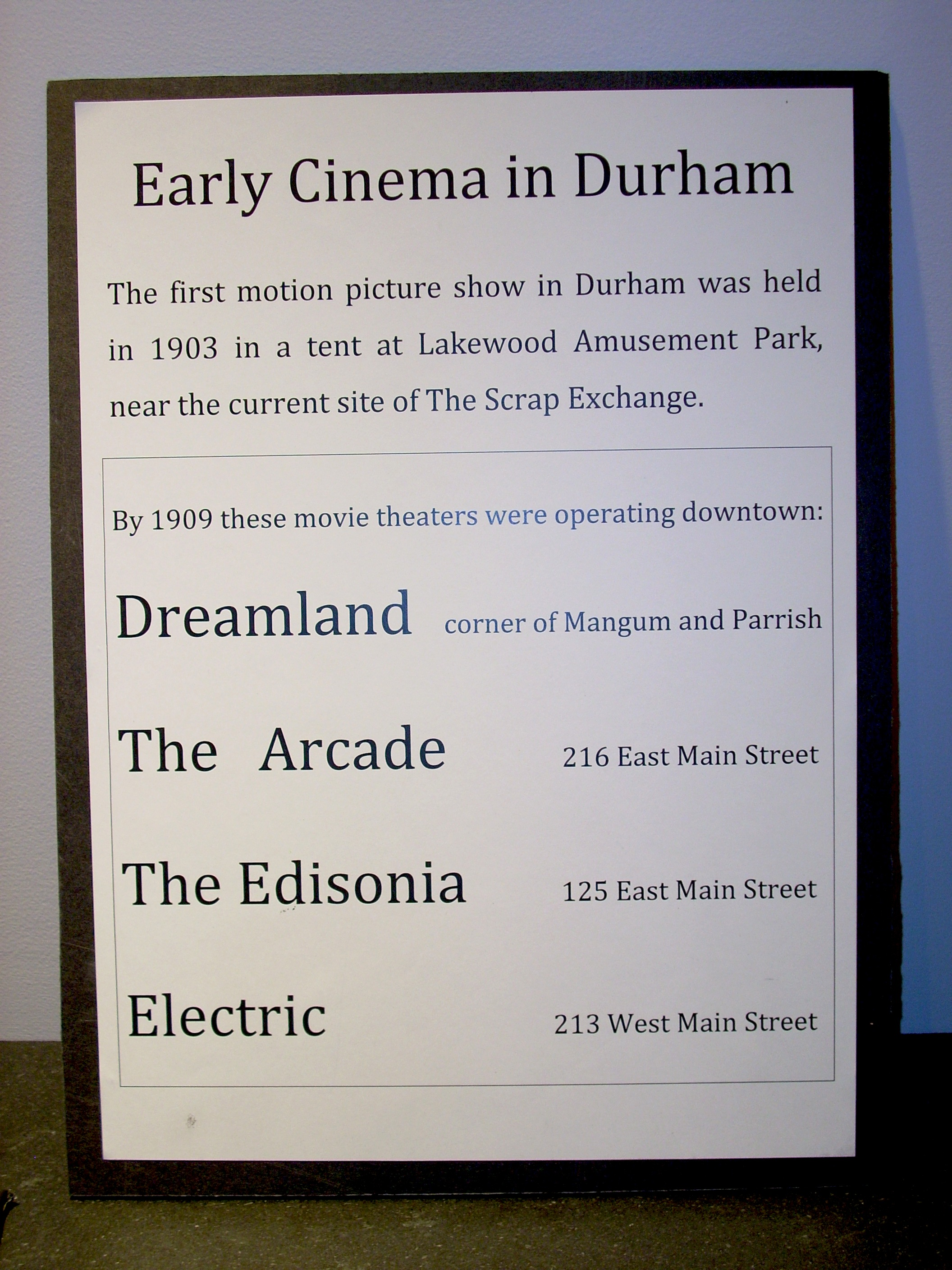 Early Cinema in Durham copy