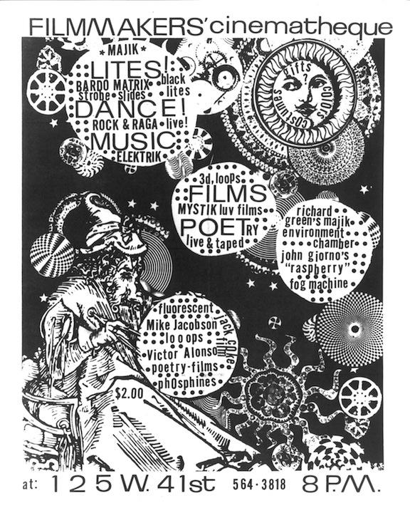 Greg Sharits Poster