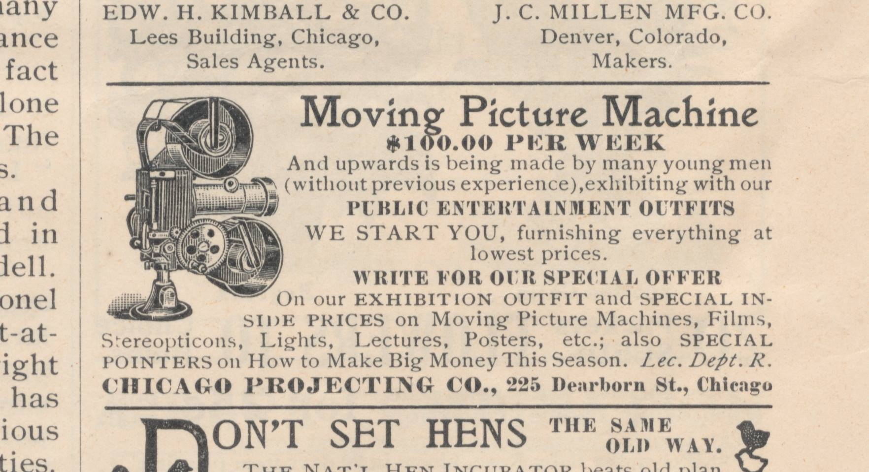 How to Break into Movies — in 1907 | Moving Image Archive News