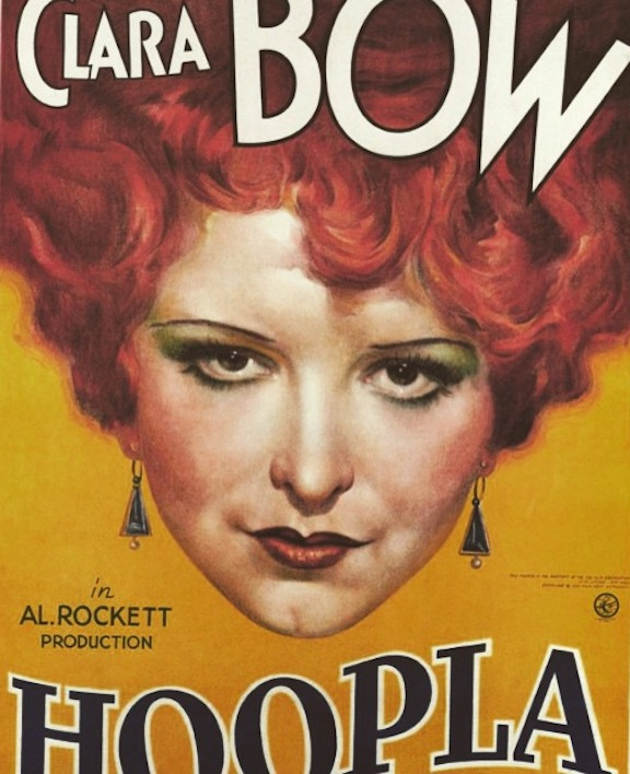 Clara Bow Hoopla