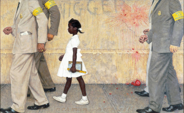 Norman Rockwell 1963 The Problem We All Live With