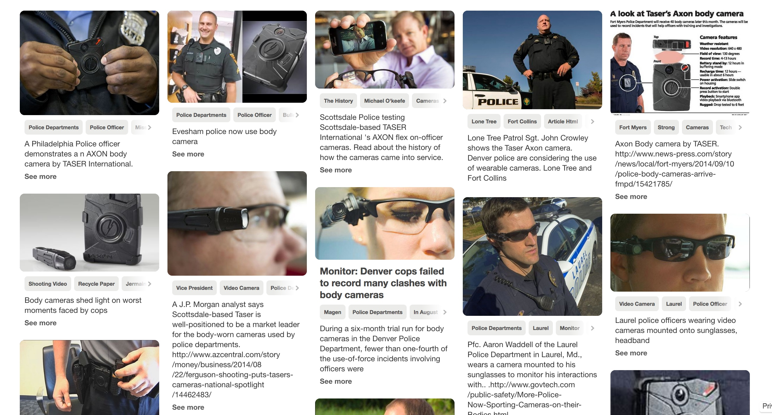 Smile Youre On A Police Body Worn Camera Moving Image Archive News Circuit Training Pinterest Lower Bodies And Takes Interest In Snazzy Surveillance Tool Click For Larger