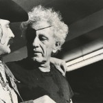 Dennis Hopper and Nicholas Ray, ca. 1971. Photo by Mark Goldstein. Image courtesy of the Harry Ransom Center.